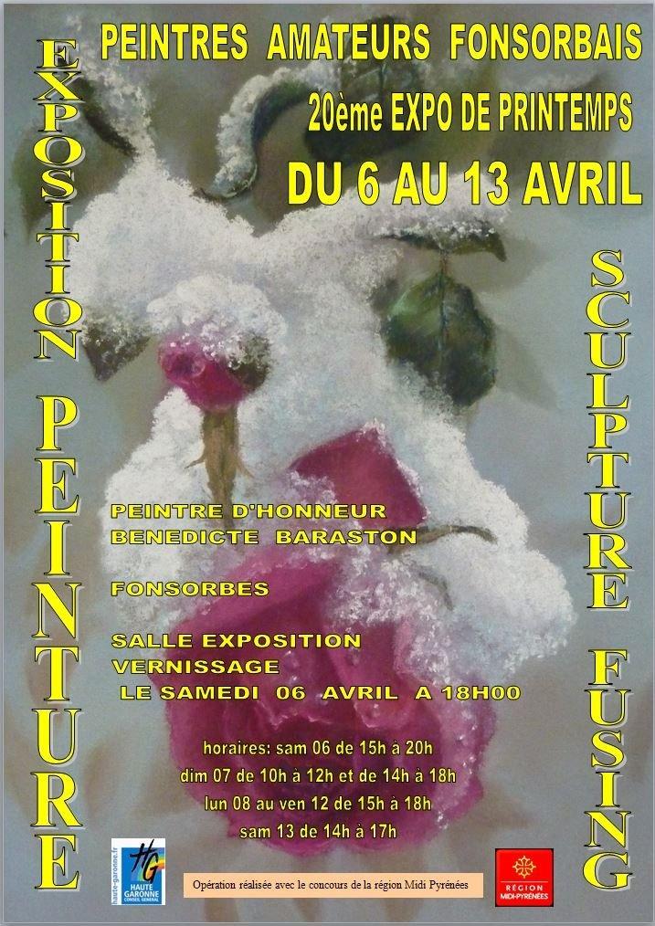 Exposition Fonsorbes Salon Printemps 2013 dans Archives image